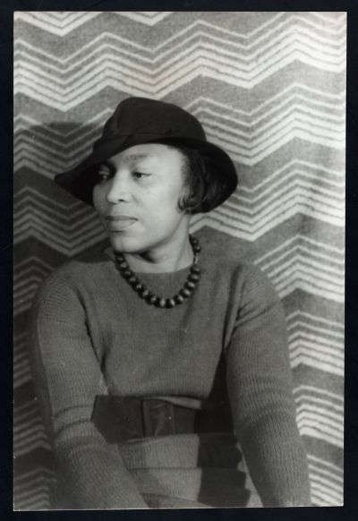 Portrait of Zora Neale Hurston.