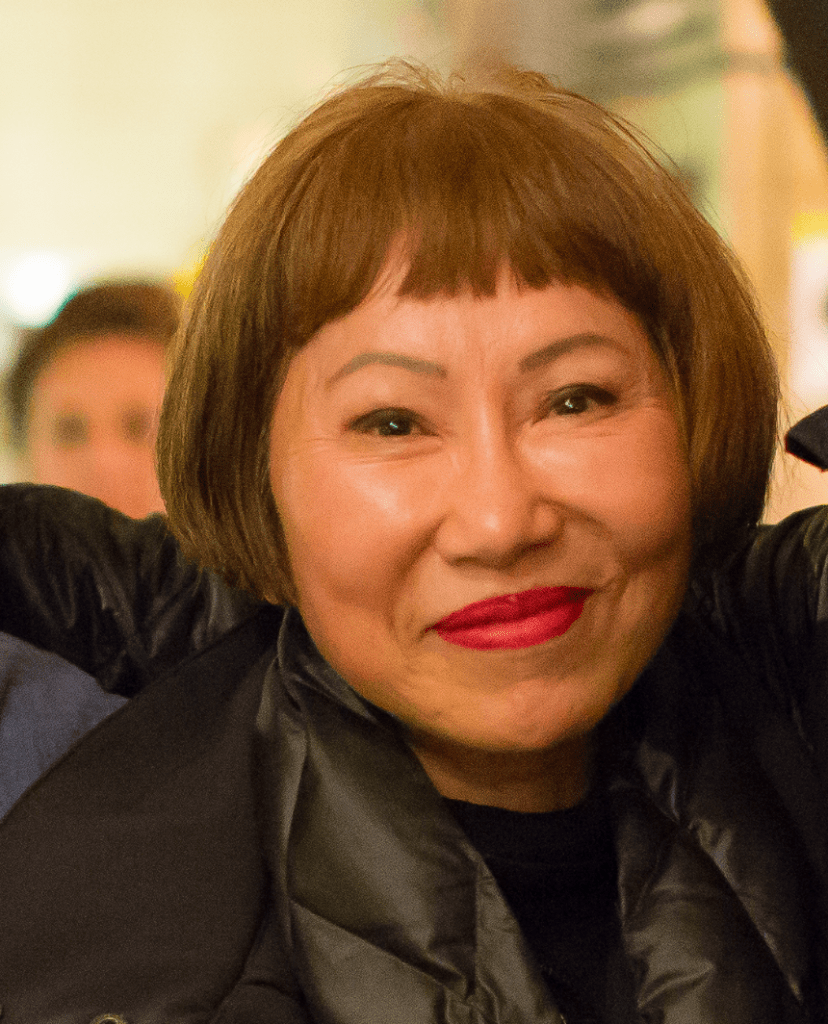 Photo of Amy Tan.