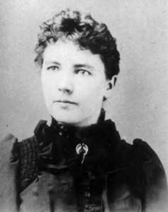 Photo of Laura Ingalls Wilder.