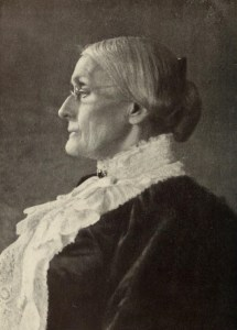Portratit of Susan B. Anthony.