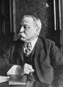 Photo of William Dean Howells.