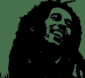 Image of Bob Marley.