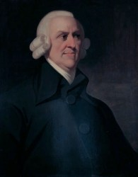 Portrait of Adam Smith.