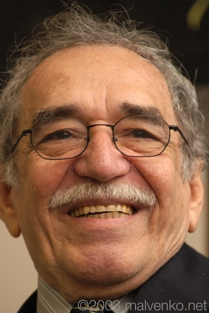 Photo of Gabriel Garcia Márquez.