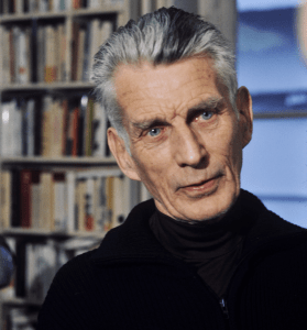 Photo of Samuel Beckett.