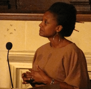Photo of Tracy K. Smith.
