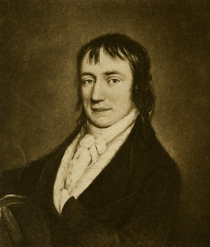 Portrait of William Wordsworth.