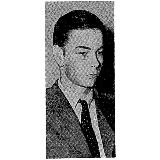 Lucien Carr at his arraignment.
