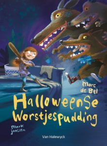 halloweense worstjespudding - marc de bel