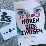 Horen Zien Zwijgen – J.D. Barker