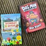 Remy leest: Dog Man 3 en Wombat & Vos