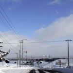 雪景色の美し道をドライブしよう!