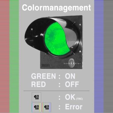 Test naColor Managament: widzisz czerwone światło, jest źle