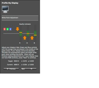 Informacja oróżnicach składowych obrazu RGB