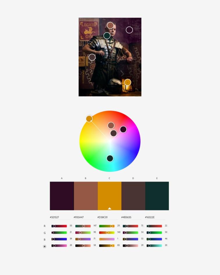 Flashtime: SPQR Color Harmony