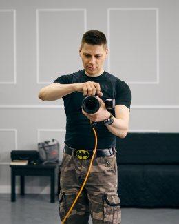 Canon EOS R zobiektywem RF 24-105 F4L