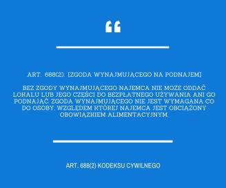 art. 688(2) kc