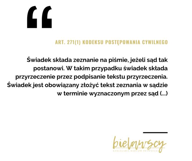 ART. 271(1) KPC