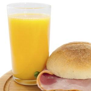 lunch en brunch buffet met jus d orange