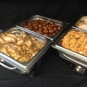 Catering Buffet Opdienders