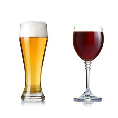 bier en wijn bij catering