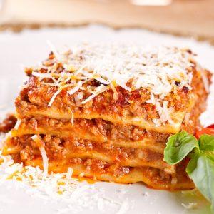 Italiaans buffet lasagne