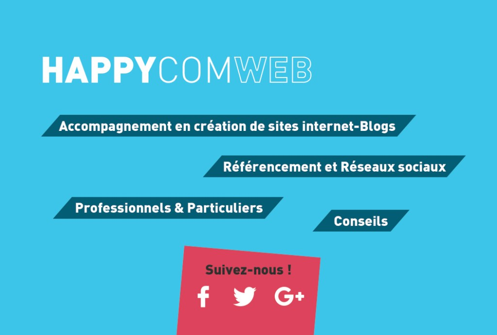Happy com web Création de sites internet blogs  conseil en communication digitale Gironde TPE ARTISANS