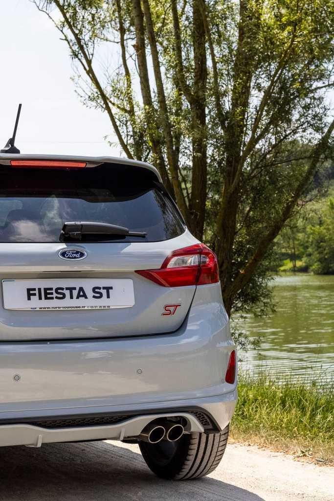 Nouvelle Ford Fiesta ST 3/4 arrière