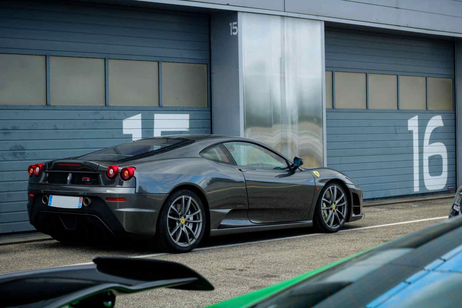 grey 430 Scuderia