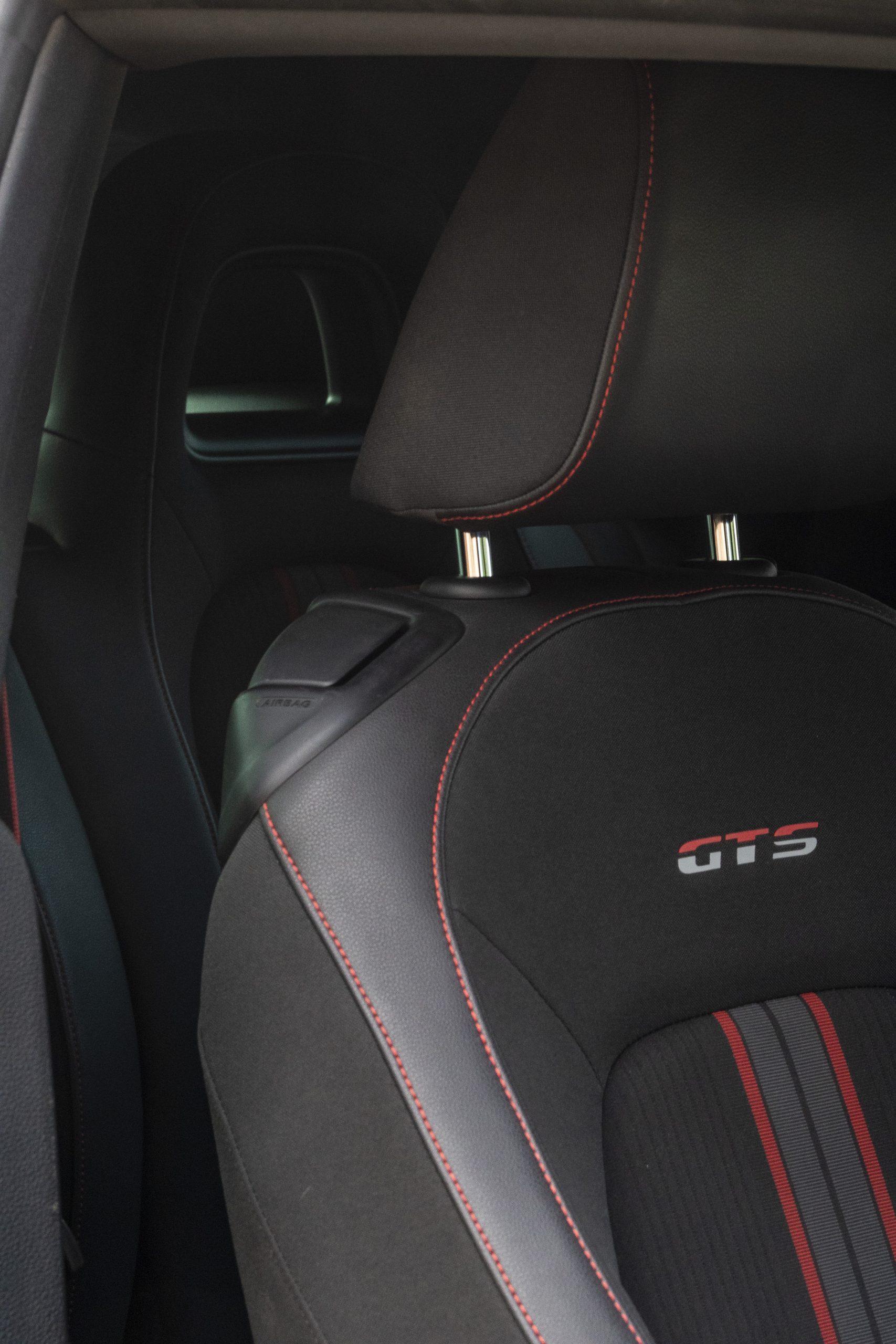 VW Scirocco GTS siège