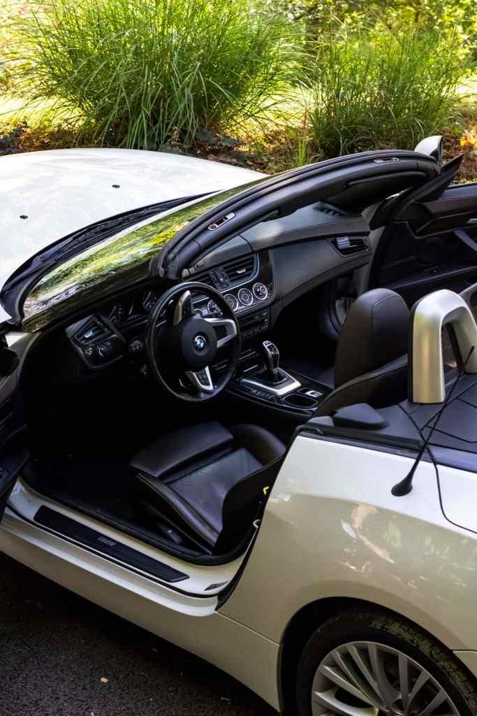 BMW Z4 28i intérieur