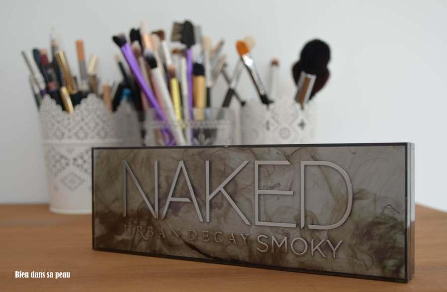 maquillage de soirée avec la Naked smoky de urban decay