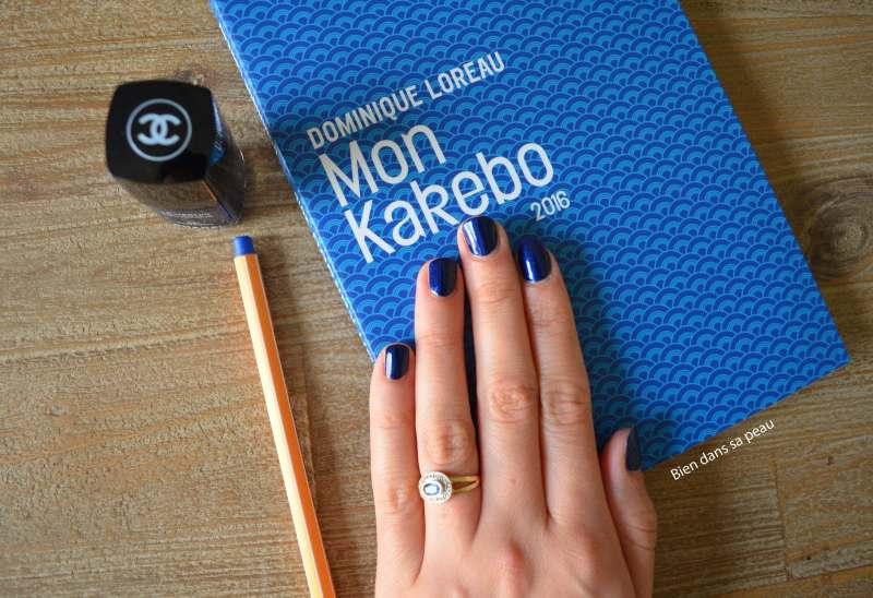 revue sur le kakebo et sur le vernis fortissimo de chanel