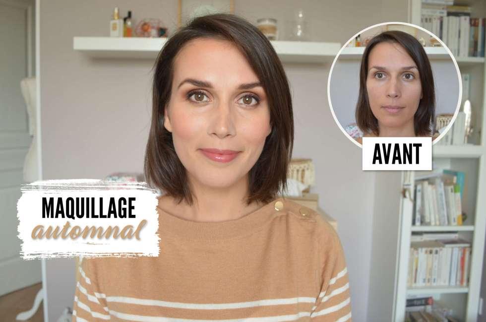 maquillage automnal bonne mine