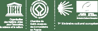 logos via Podiensis chemin de Compostelle