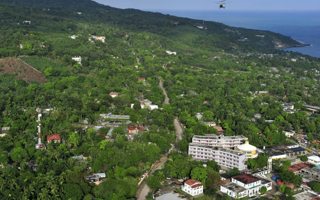 Port-au-Prince landscape Haiti land beautiful
