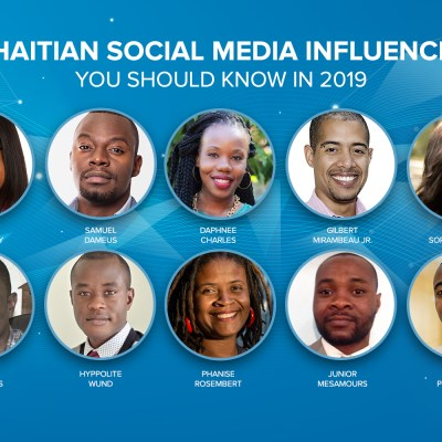 10 Haitian Social Media Influencers You Should Know in 2019