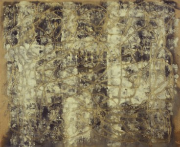 Jorge Huberto Marques 1995 MOMENTUM ESTÉTICO I Óleo s/ papel 215 x 170 cm