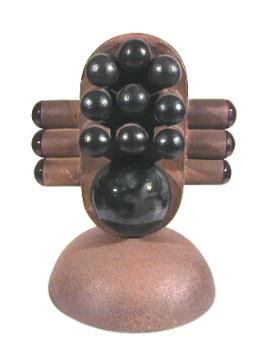 Dimas Macedo 1998 CABEÇA Cerâmica 38 x 26 x 20 cm