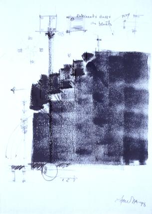 Carlos Barreira 1998 SEARA MECÂNICA Técnica Mista 100 x 70 cm