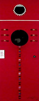 Colectivo Perve 2001 MÁQUINA CROMÁTICA Instalação Multimédia 230 x 80 x 30 cm