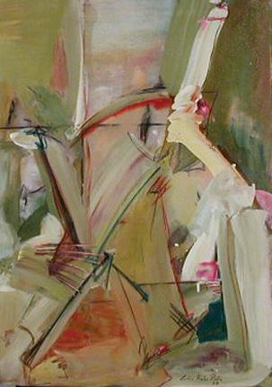 Rocha Pinto 1978 PINTURA Óleo s/ tela 92 x 65 cm