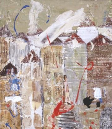 Emília Viana 2003 CIDADE INVICTA Técnica Mista 60 x 70 cm