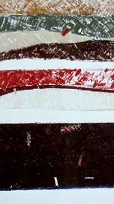 Jaime Isidoro 2001 S/ TÍTULO Óleo s/ Tela 194 x 103 cm