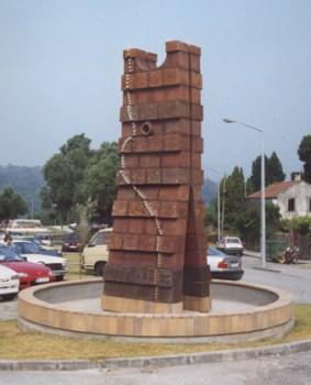Arcádio Blasco 1998 LASTRA S/ TÍTULO 130 x 150 x 450 cm