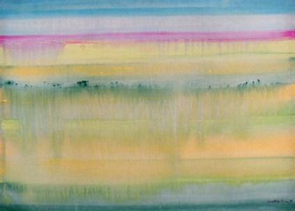 Leonor Serpa Branco 1984 S/ TÍTULO Acrílico s/ Tela 67 x 90 cm
