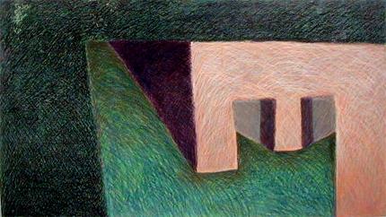 Rui da Rosa 1984 S/ TÍTULO Pastel s/ Madeira 100 x 175 cm