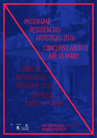 Concurso Residências Artísticas 2016