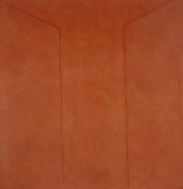 Ângelo de Sousa (MZ) Sem título, 1979 Acrílica sobre tela 170 x 170 cm Prémio Pintura na II Bienal Internacional de Arte de Cerveira, realizada de 2 a 31 de agosto de 1980.