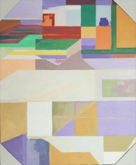 Sem título, 2011 (da série Um Olhar sobre o Palácio) Acrílico sobre tela 120X100 cm